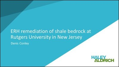 ERH remediation of shale bedrock at Rutgers University in New Jersey-1