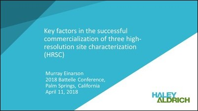 Key Factors in the Commercialization of Three High-Resolution Site Characterization-1