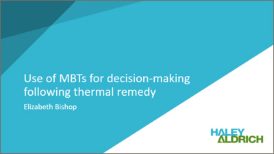 Use of MBTs for decision-making following thermal remedy